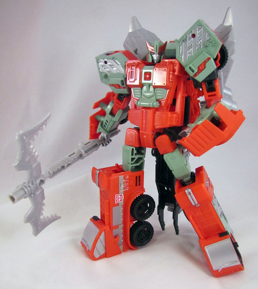 Transformers Combiner Wars Victorion PYRA MAGNA Only Voyager Class w Head